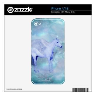 Unicorn with wings fantasy skins for iPhone 4