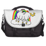 unicorn with wings laptop bag