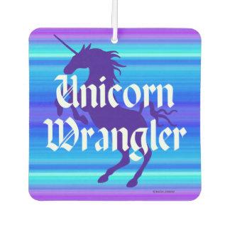 """""""Unicorn Wrangler"""" Air Freshener"""