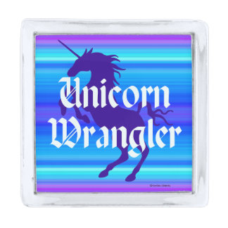 """Unicorn Wrangler"" Lapel Pin"