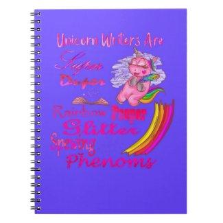 Unicorn Writers Are Super Duper Notebook
