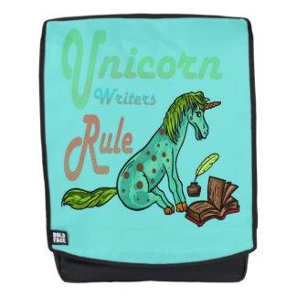 Unicorn Writers Rule Backpack