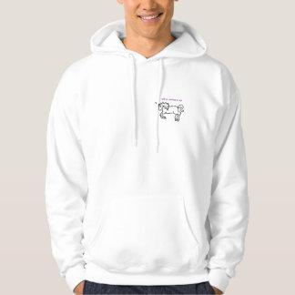 unicorn, wtf a unicorn lol hoodie
