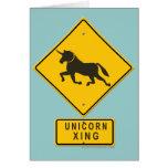 Unicorn XING Cards