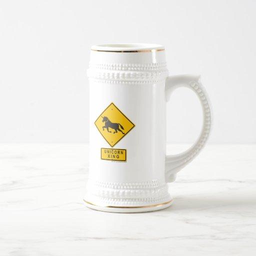 Unicorn XING Coffee Mugs
