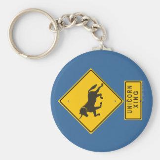 Unicorn XING Key Chains