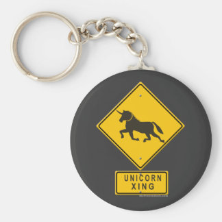 Unicorn XING Keychains
