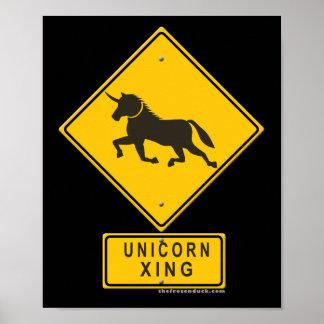 Unicorn XING Print