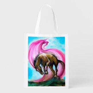 Unicorn Grocery Bags