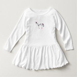Unicorn Zebra Dress