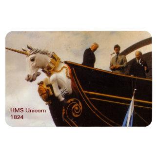 Unicornio 1824 del HMS Imán