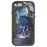 Unicornio azul 2 funda de iPhone 6 tough xtreme