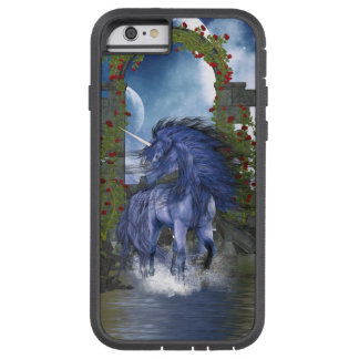 Unicornio azul 2 funda para  iPhone 6 tough xtreme