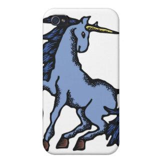 Unicornio azul iPhone 4/4S fundas