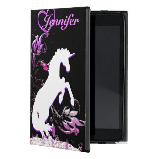 Unicornio blanco V (chapoteo de Coloful) iPad Mini Funda