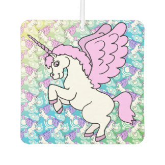 Unicornio blanco y rosado