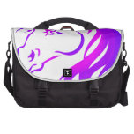 Unicornio bonito bolsas de ordenador