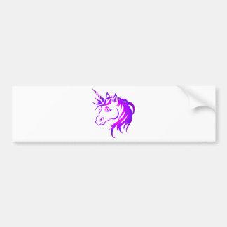 Unicornio bonito pegatina para auto