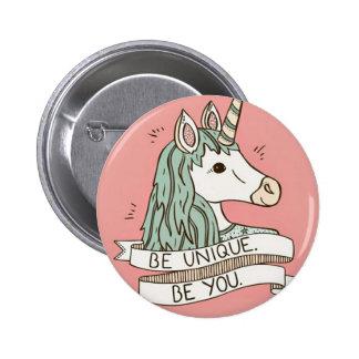 Unicornio Button 5,7 cm Redondos Pin Redondo De 2 Pulgadas