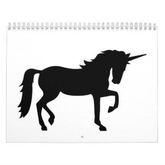 Unicornio Calendario