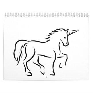 Unicornio Calendarios De Pared