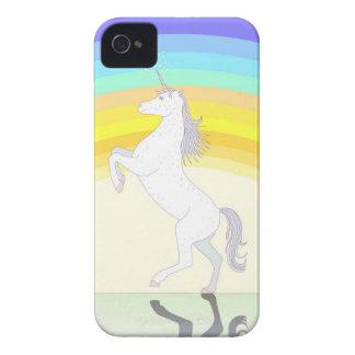 Unicornio - caso del iPhone 4 Case-Mate iPhone 4 Cárcasa