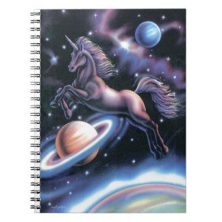 Unicornio celestial cuadernos