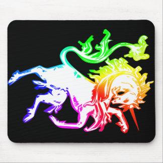 Unicornio colorido alfombrilla de raton