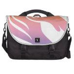 Unicornio colorido bolsas para portátil
