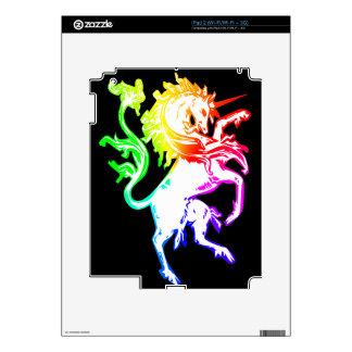 Unicornio colorido calcomanías para el iPad 2