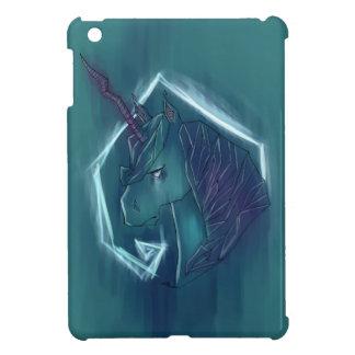 Unicornio colorido estilizado de la pintada