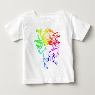 Unicornio colorido playera