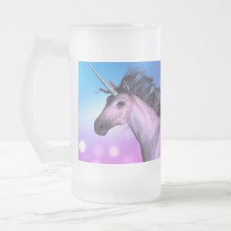 Unicornio colorido taza