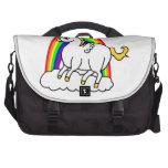 unicornio con las alas bolsas de portátil