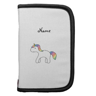 Unicornio conocido personalizado del bebé del arco organizadores