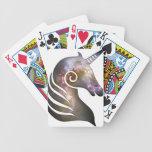 Unicornio cósmico baraja cartas de poker