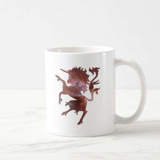 Unicornio cósmico taza clásica