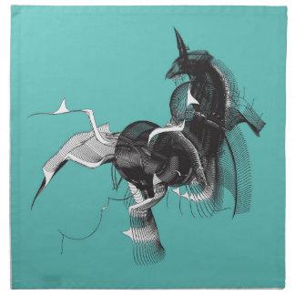 Unicornio de Digitaces Servilleta