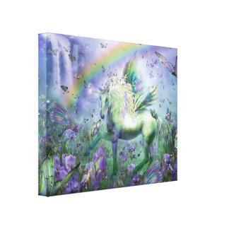 Unicornio de la impresión de la lona de bella arte impresión en tela