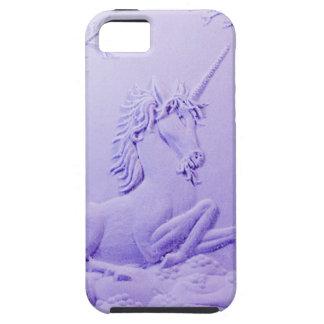 Unicornio de la lavanda en el claro del bosque por iPhone 5 coberturas