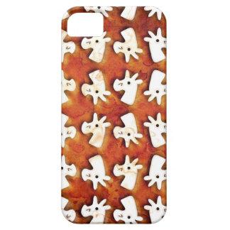 Unicornio de la melcocha iPhone 5 cárcasas