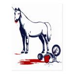 Unicornio de la muerte postales
