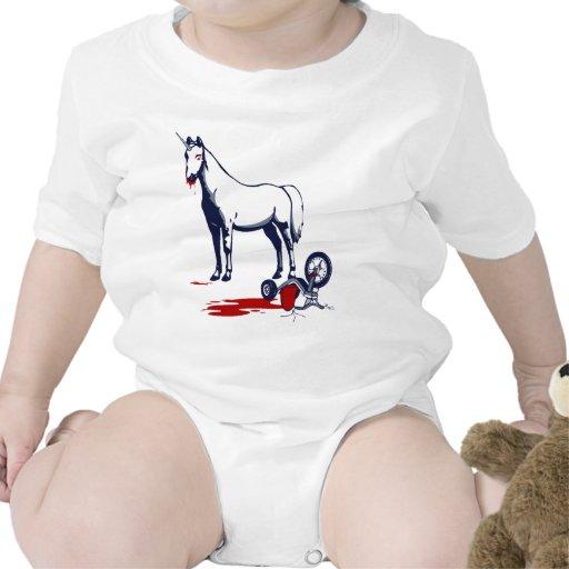 Unicornio de la muerte trajes de bebé