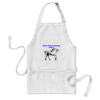unicornio de la pídola delantal
