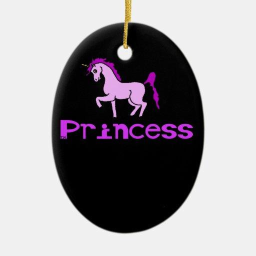 unicornio de la princesa ornamento para reyes magos