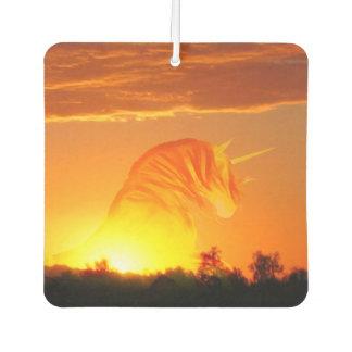 Unicornio de la salida del sol