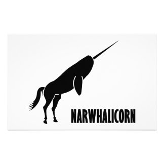 Unicornio de Narwhalicorn Narwhal Papeleria De Diseño