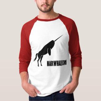 Unicornio de Narwhalicorn Narwhal Playera
