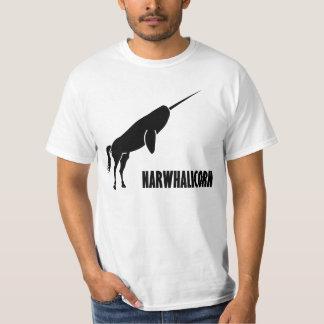 Unicornio de Narwhalicorn Narwhal Poleras