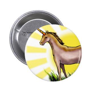 Unicornio de oro pin